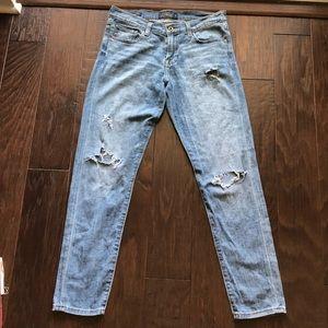 Lucky Brand Boyfriend Distressed Jean